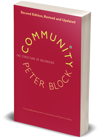 Community by Peter Block