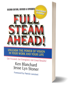 Full Steam Ahead by Jesse Lyn Stoner and Ken Blanchard