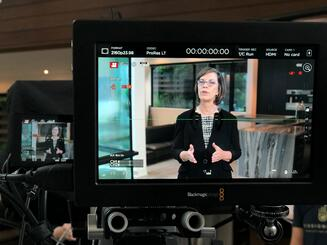 Cheryl Bachelder training course shoot